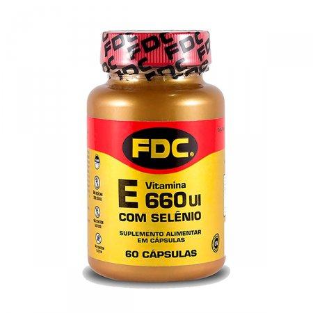 Vitamina E 660UI + Selênio 100mg