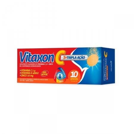Vitaxon C Tripla Ação com 10 Comprimidos  