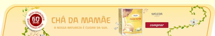 Mini Banner CHÁ DA MAMÃE WELEDA