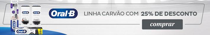 ORAL B CARVÃO
