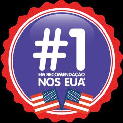 #1 em recomendação nos EUA²