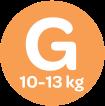 Até 13kg