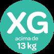 Acima de 13kg