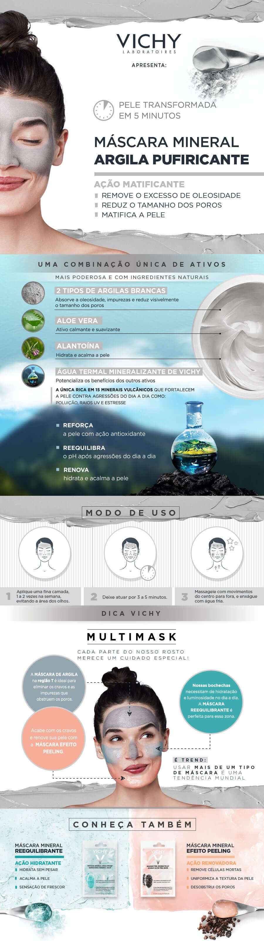 Mascara Mineral Vichy Duo Argila Purificante