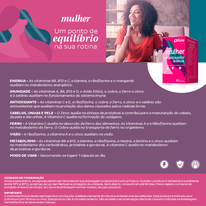 Vitamina Raia Mulher
