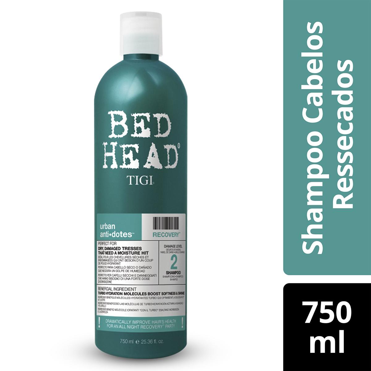 Shampoo Bed Head Recovery Cabelos Ressecados 750ml 750ml