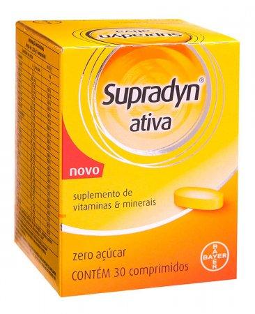 Supradyn Ativa 30 Comprimidos