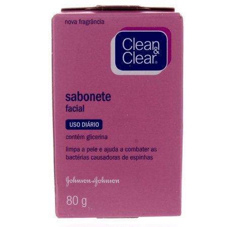 Sabonete Clean&Clear Facial Barra  80g
