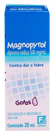 Magnopyrol Gotas Com 20ml