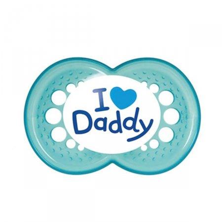Chupeta MAM Mom & Dad 6+ Meses Azul