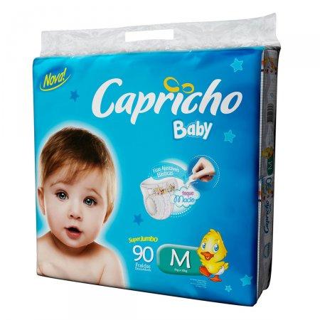 Fralda Capricho Baby Tamanho M