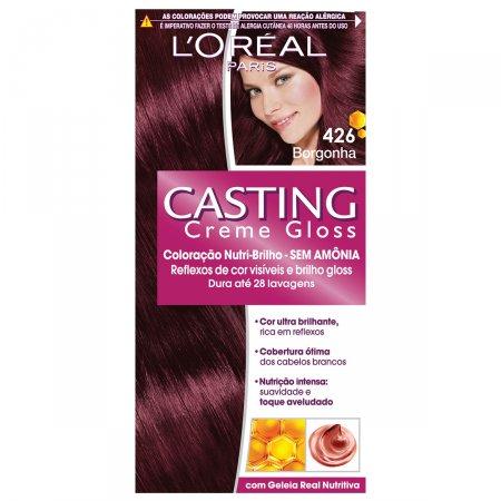 Coloração Permanente Casting Creme Gloss N° 426 Borgonha