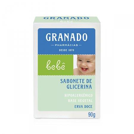 Sabonete Barra Granado Bebê Erva Doce 90g