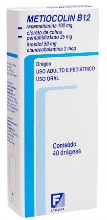 Metiocolin B12 40 Comprimidos