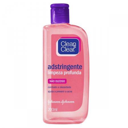 Adstringente Clean&Clear Limpeza Profunda 200ml