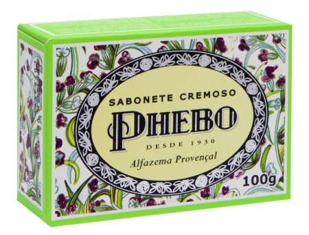 Sabonete Phebo Alfazema Base Vegetal Manteiga de Murumuru 100g