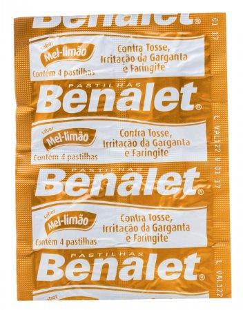 Pastilha Benalet Sabor Mel e Limão