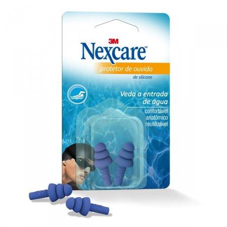 Protetor de Ouvido Nexcare c/1 Unidade Silicone