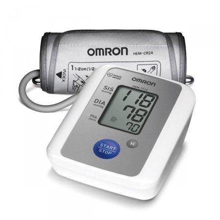 Monitor Digital de Pressão Arterial Automático Braço Omron HEM-7113