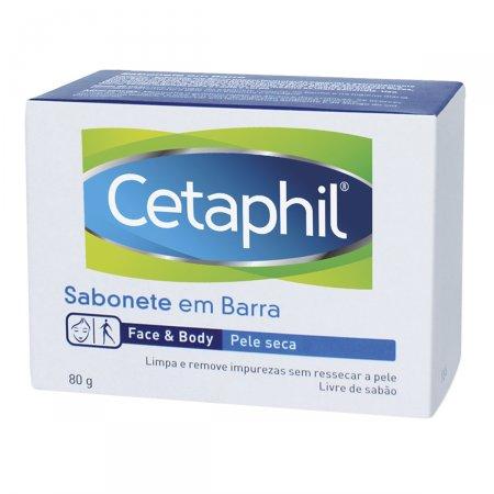 Sabonete Cetaphil para Pele Seca 80g