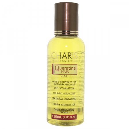 Leave-On Charis Queratina Hair 120ml