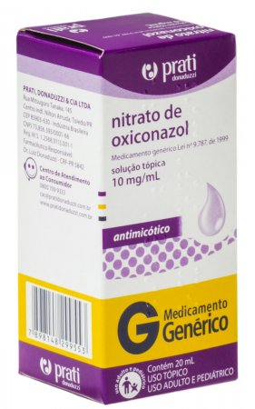 Nitrato de Oxiconazol 10mg/ml
