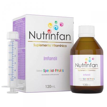 Suplemento Vitamínico Nutrinfan Infantil Special Fruits Solução Oral com 120ml + seringa dosadora