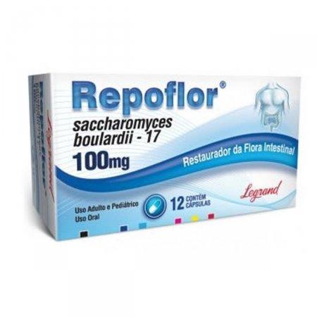 Repoflor 100mg Com 12 Cápsulas