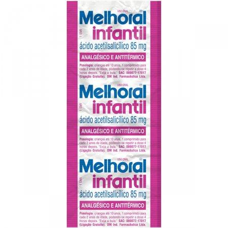 Melhoral Infantil Com 8 Comprimidos