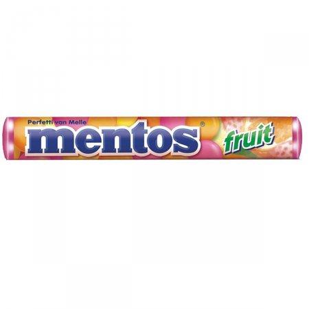 Bala Mentos Stick Frutas 37,5g