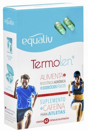 Equaliv Termolen Cafeína 62 Cápsulas