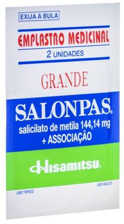 Salonpas Emplastro Grande Com 02 unidades