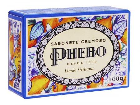 Sabonete Phebo Mediterrâneo Limão Siciliano Barra 100g