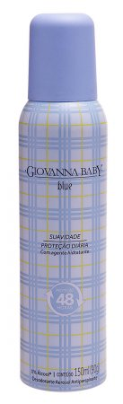 Desodorante Aerosol Giovanna Baby 150ml Blue