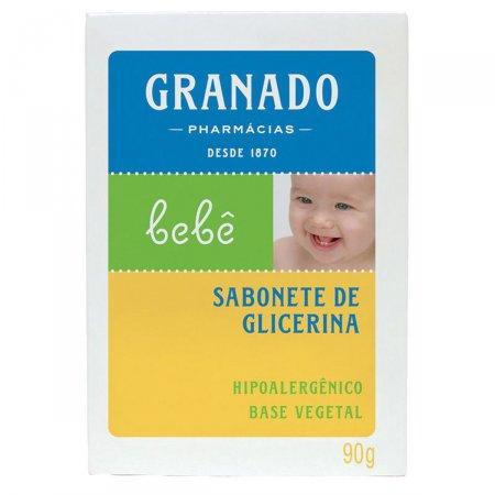 Sabonete Granado Bebê Glicerina Barra 90g