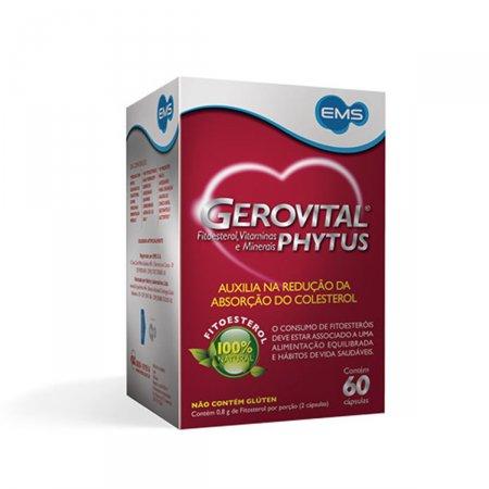 Gerovital Phytus Com 60 Cápsulas