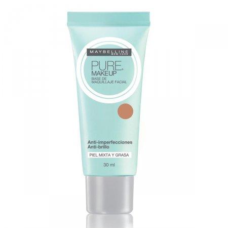 Base Líquida Maybelline Pure Make-up N°45 Dourado