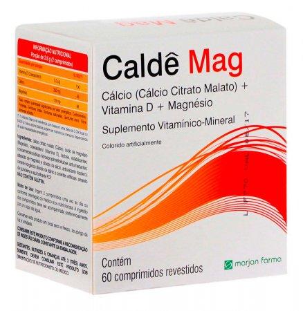 Suplemento Vitamínico Caldê Mag com 60 comprimidos