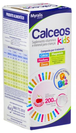 Calceos Kids Suspensão Oral 200ml