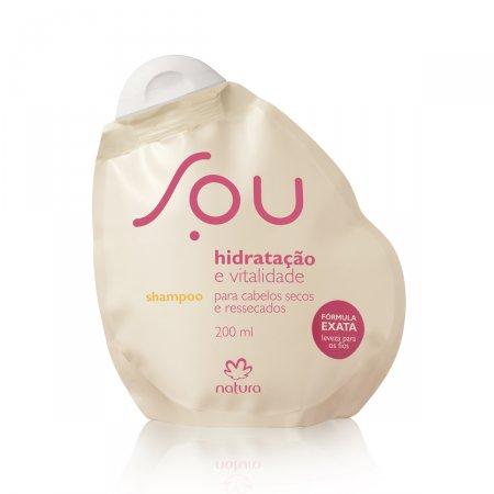 Shampoo Natura Sou Hidratação e Vitalidade 200ml