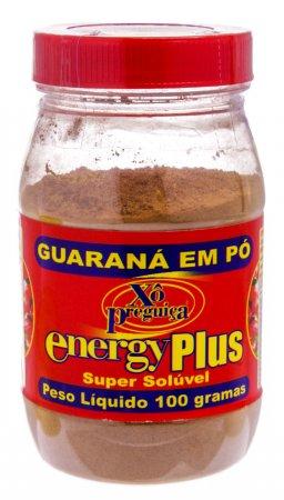 Guaraná em Pó Energy Plus Xô Preguiça com 100g