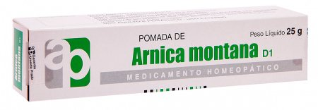 Arnica Montana Homeopática pomada com 25g