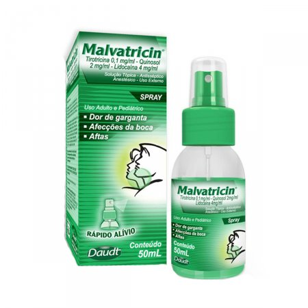 Malvatricin Spray Com 50ml