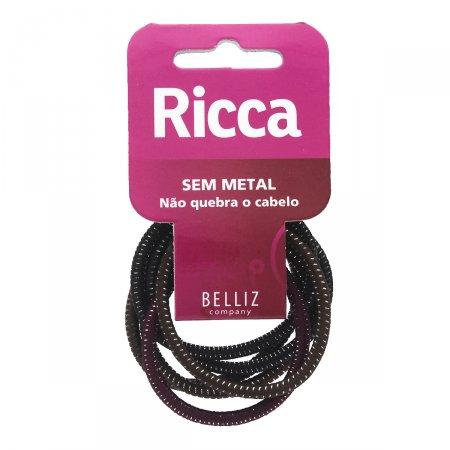 Elástico Sem Metal Basic Fashion Brilho
