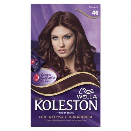 Coloração Creme Koleston Borgonha 46