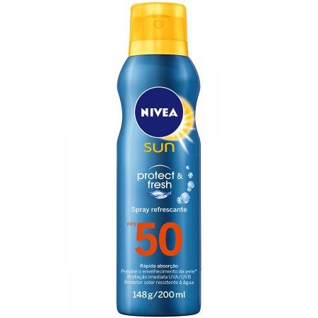 Protetor Solar Spray Nivea Sun Protect & Fresh FPS50