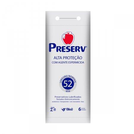 Camisinha Preserv Alta Proteção com 6 unidades