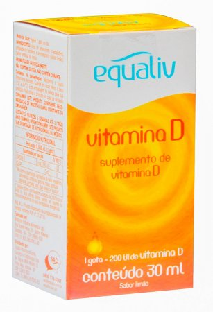 Vitamina D 200UI Equaliv com 30ml