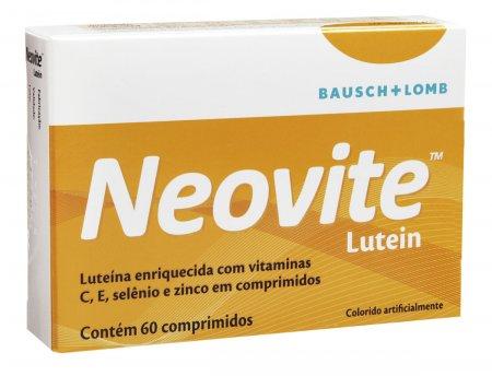 Suplemento Vitamínico Neovite Lutein com 60 comprimidos