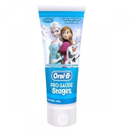 Creme Dental Infantil Oral-B Pro-Saúde Stages Frozen